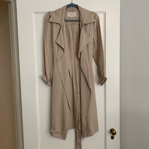 Tan Trench/ Duster Coat